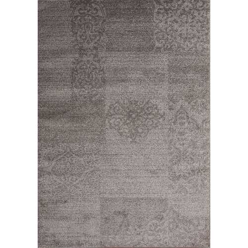 Jena Wave Gray Beige Area Rug 3 ft. by 5 ft.