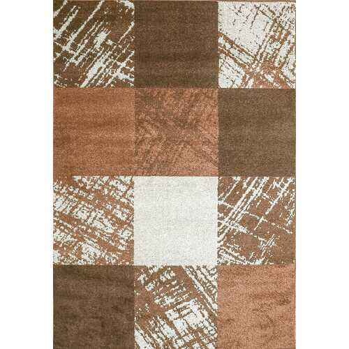 Caramel Drizzle Brown Beige Area Rug 8 ft. by 10 ft.