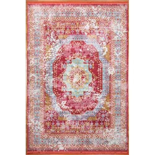 Magenta rooted Vintage Area Rug