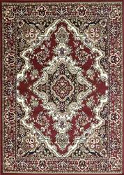 Stevens Oriental Classic Red/Black Indoor Area Rug
