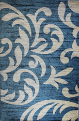 Knoxville Blue Area Rug 5 ft. by 7 ft.