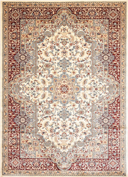 Msrugs Traditional Oriental Medallion Red Beige Area Rug Persian Style Rug 500