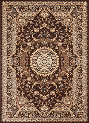 Msrugs Traditional Oriental Medallion Brown Beige Area Rug Persian Style Rug 850
