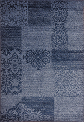 Jena Wave Blue Beige Area Rug 5 ft. by 7 ft.