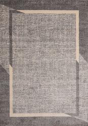 Fine Sleek Gray Beige Area Rug 3 ft. by 5 ft.