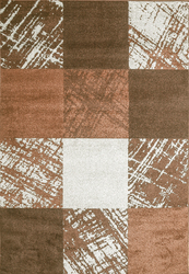 Caramel Drizzle Brown Beige Area Rug 3 ft. by 5 ft.