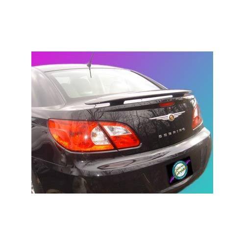 Painted 2007-2010 Chrysler Sebring Spoiler Sedan Custom Style Wing