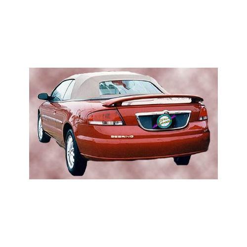 Unpainted 2001-2006 Chrysler Sebring Spoiler Convertible Custom Style