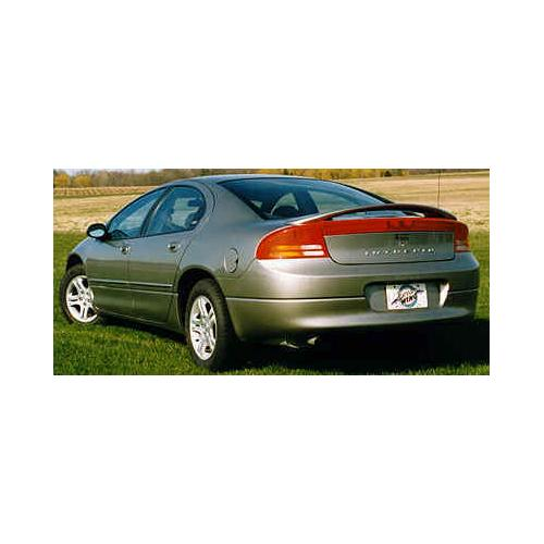 Unpainted 1998-2004 Dodge Intrepid Spoiler Custom Style