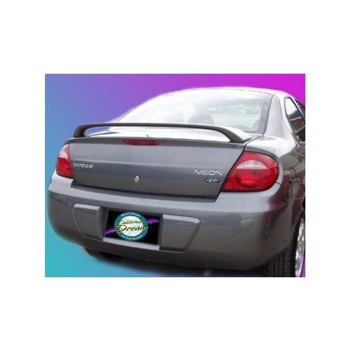 Unpainted 2000-2005 Dodge Neon Spoiler Custom Spoiler