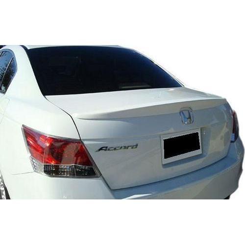 Painted 2008-2012 Honda Accord Sedan Spoiler Factory Lip Style