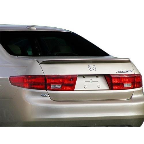 Unpainted 2003-2005 Honda Accord Sedan Spoiler Factory Lip Style