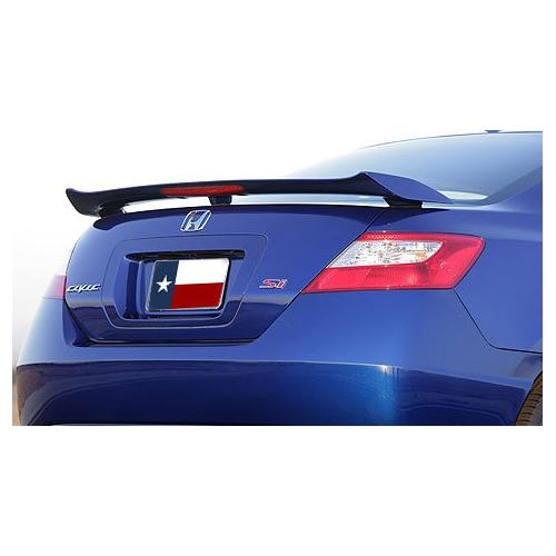 Unpainted 2006-2011 Honda Civic Coupe Spoiler Factory SI Style