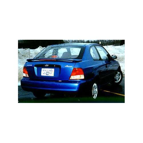 Unpainted Hyundai Accent Coupe Spoiler 2000-2002 Custom Style