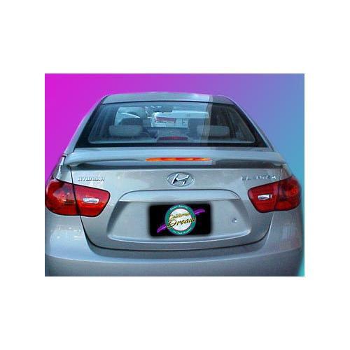 Unpainted 2007-2010 Hyundai Elantra Spoiler Custom Style