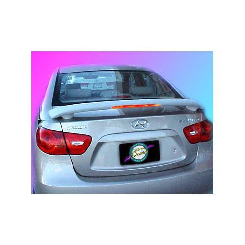 Unpainted 2007-2010 Hyundai Elantra Spoiler Custom Style Wing