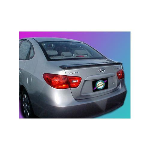 Unpainted 2007-2010 Hyundai Elantra Spoiler Custom Lip Style