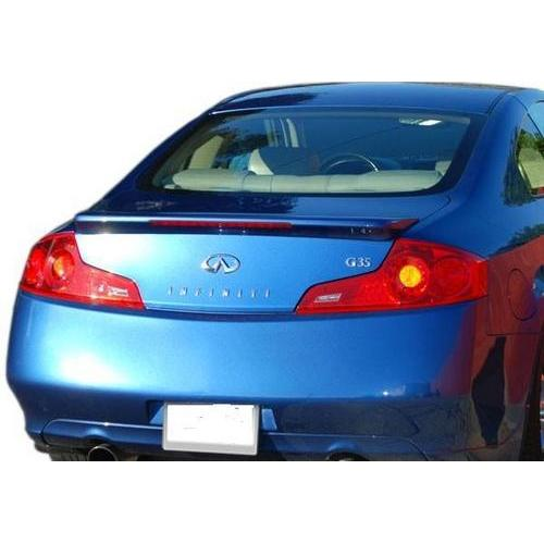 Painted 2006-2007 Infiniti G35 Coupe Spoiler Factory Style