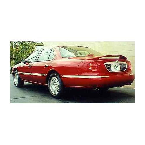 Painted 1998-2002 Lincoln Continental Spoiler Custom Style