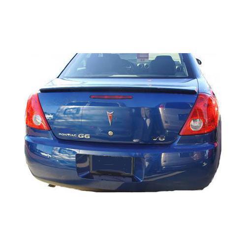 Unpainted 2005-2010 Pontiac G6 Sedan Spoiler Factory Style