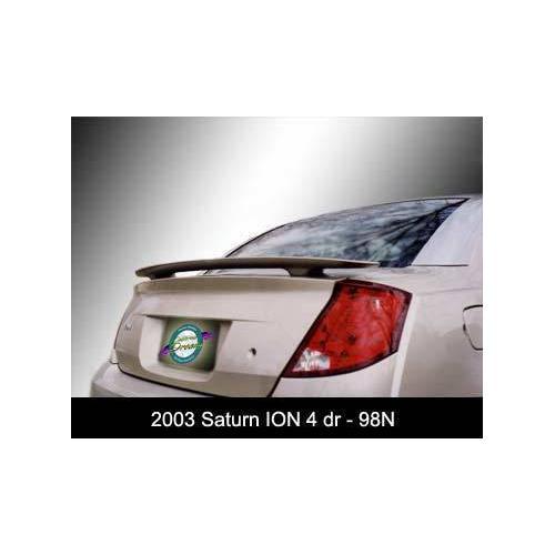 Unpainted 2003-2008 Saturn Ion Sedan Spoiler Custom Style