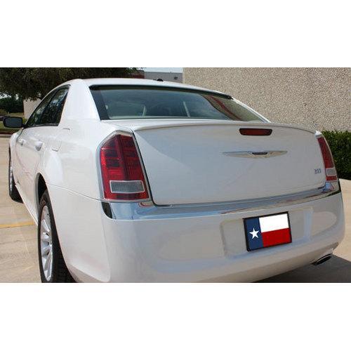 Unpainted 2011-2013 Chrysler 300C Custom Lip Spoiler