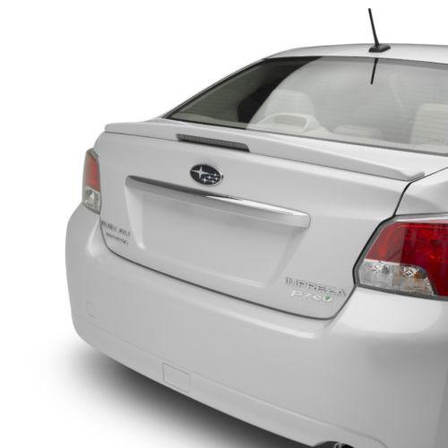 Unpainted 2012-2016 Subaru Impreza Spoiler Flush Mount Style