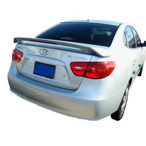 Unpainted 2007-2010 Hyundai Elantra Spoiler 2 Post Custom Style