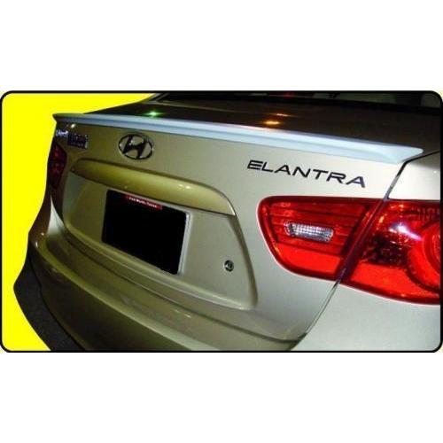 Unpainted 2007-2010 Hyundai Elantra Spoiler Factory Lip Style