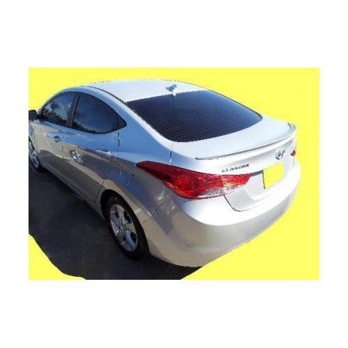 Unpainted 2011-2015 Hyundai Elantra Spoiler Factory Lip Style