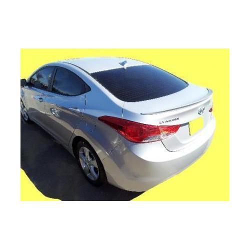 Painted 2011-2015 Hyundai Elantra Spoiler Factory Lip Style