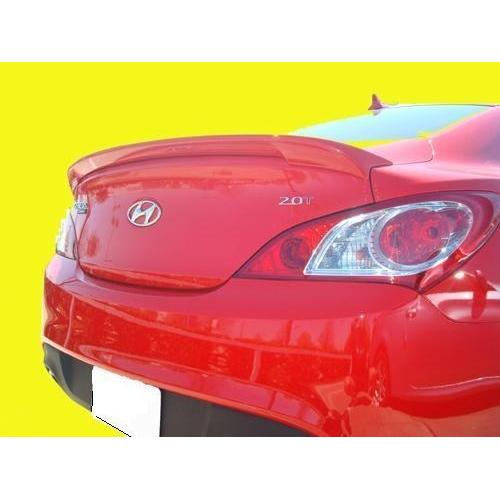 Painted 2010-2015 Hyundai Genesis Coupe Spoiler Factory Lip Style