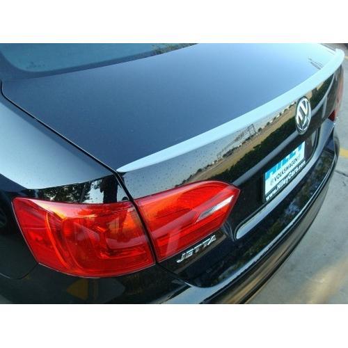 Unpainted 2011-2014 Volkswagen Jetta Lip Spoiler Factory Style