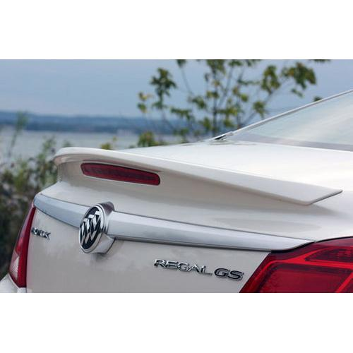 Painted 2011-2013 Buick Regal Spoiler - Factory Lip Style