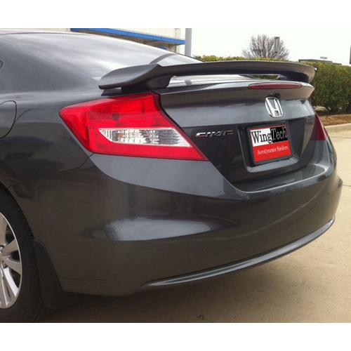Painted 2012-2016 Honda Civic Coupe Spoiler Custom Style