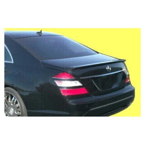 Unpainted 2007-2013 Mercedes S Class Spoiler Factory Lip Style