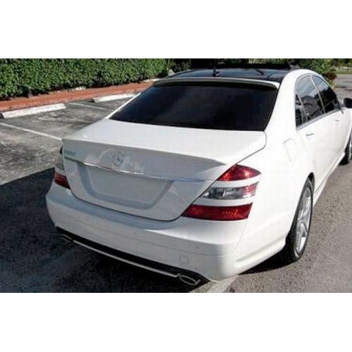 Unpainted 2007-2013 Mercedes S Class Roof Spoiler