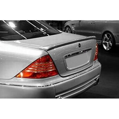 Unpainted 1999-2006 Mercedes S Class Spoiler Factory Lip Style