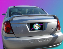 Unpainted 2003-2008 Saturn Ion Coupe Spoiler Custom Style