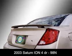 Painted 2003-2008 Saturn Ion Sedan Spoiler Custom Style