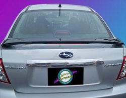 Unpainted 2008-2010 Subaru Impreza Spoiler Custom Style