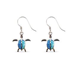 Honu Opal Dangle Earrings