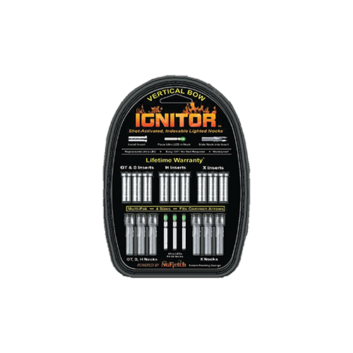 Ignitor Lighted Nock Green Universal Fit