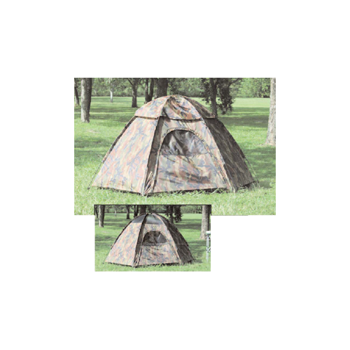 Camo Hexagon Dome Tent
