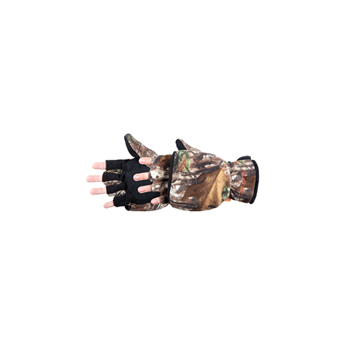 Bowhunter Convertible Glove/ Mitten Realtree Xtra Camo Lg