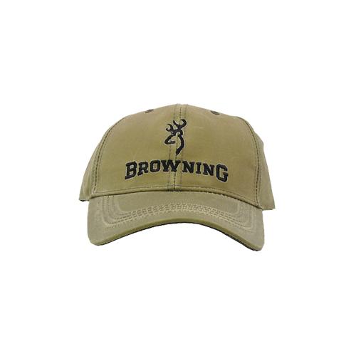 Browning Lite Wax Cap Khaki