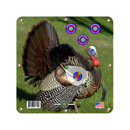 """Arrow Mat Turkey Target 17""""x17""""   ** Sold Eaches **"""