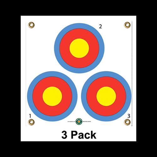 """Arrow Mat 3 Spot Target 17""""x17""""  * Sold in Eaches *"""