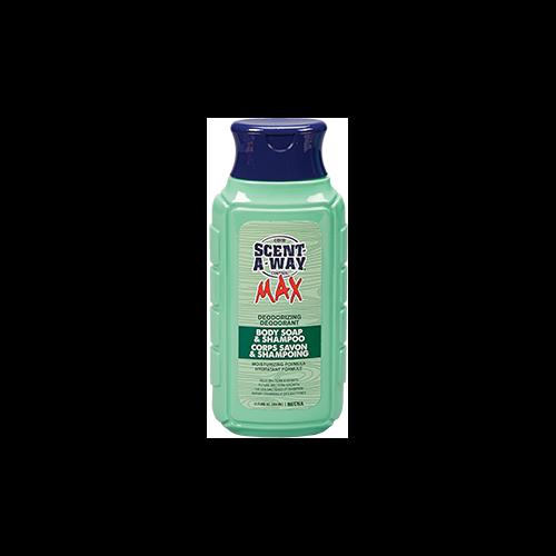 HS Scent-A-Way Max Deodorizing Body Soap & Shampoo 12oz