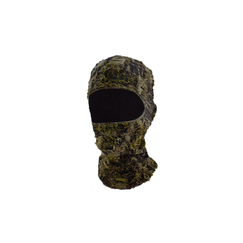 One Hole Mask 3D Grassy Camo